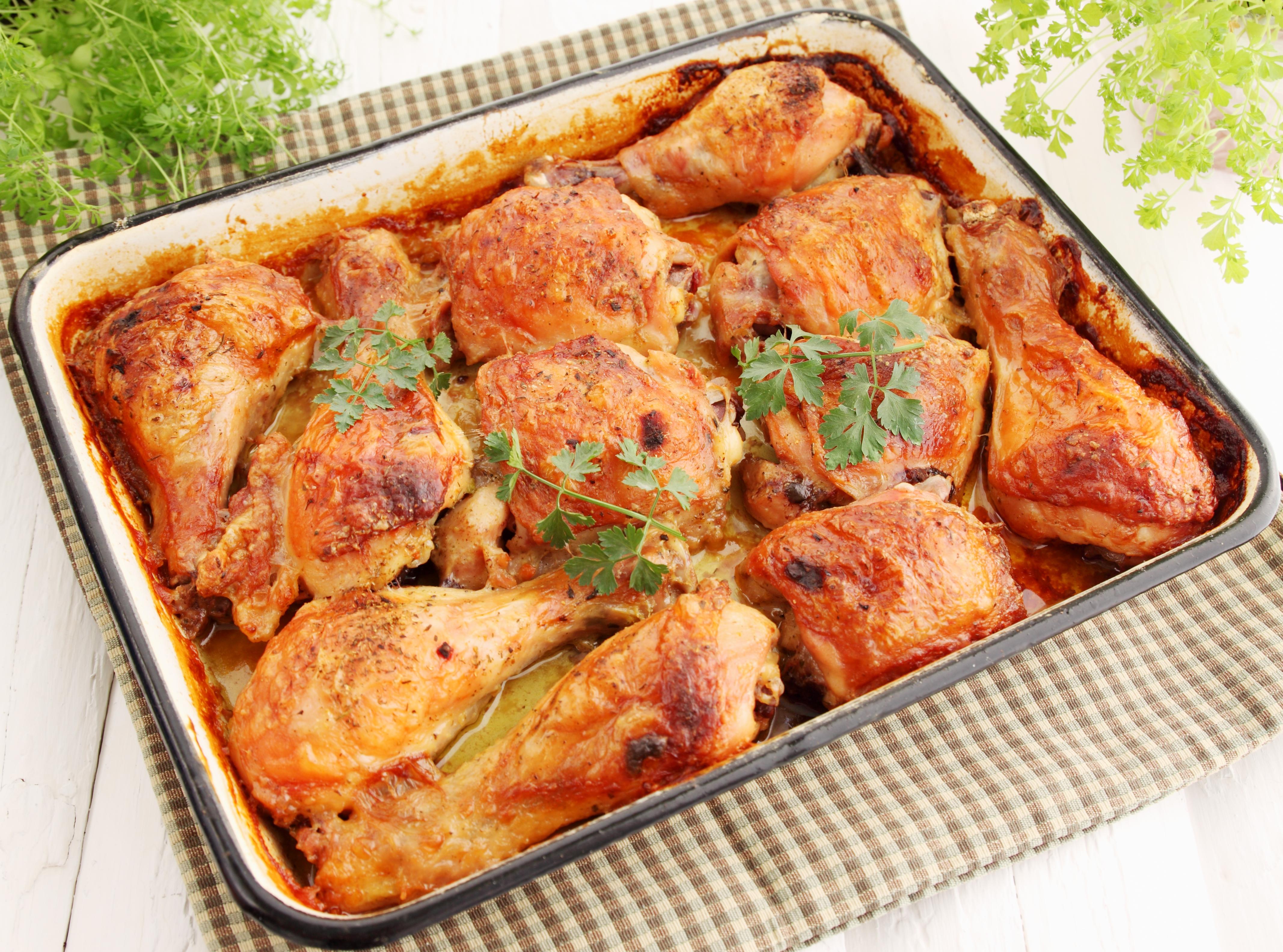 Курица в духовке в форме для запекания рецепты